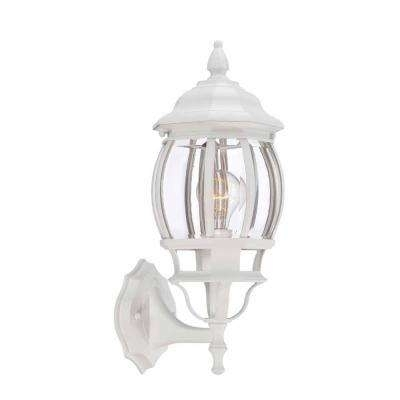 Inspiration about White – Outdoor Lanterns – Rust Resistant – Outdoor Wall Mounted Inside White Outdoor Lanterns (#11 of 15)