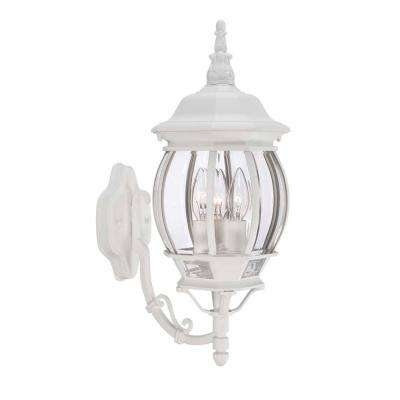 Inspiration about White – Outdoor Lanterns – Rust Resistant – Outdoor Wall Mounted Throughout White Outdoor Lanterns (#1 of 15)