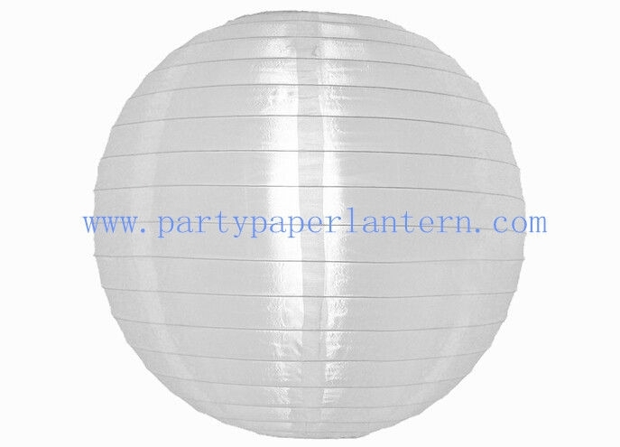 Inspiration about White Round Nylon Lantern For Party , Outdoor Decoration Holy And Throughout Outdoor Round Lanterns (#10 of 15)