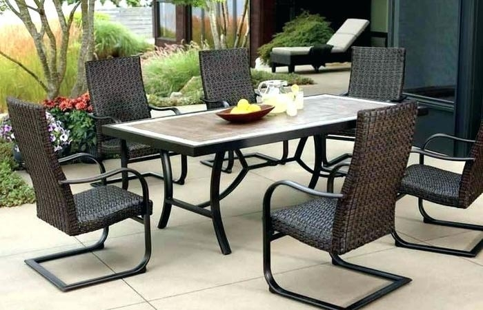 Inspiration about Wicker Chairs Lowes New Furniture Kroger Patio Lowe's Outdoor Table Within Kroger Outdoor Lanterns (#11 of 15)