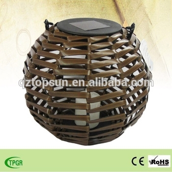 Wooden Candle Light Bamboo Lanterns Led Garden Light For Outdoor Pertaining To Outdoor Bamboo Lanterns (View 8 of 15)