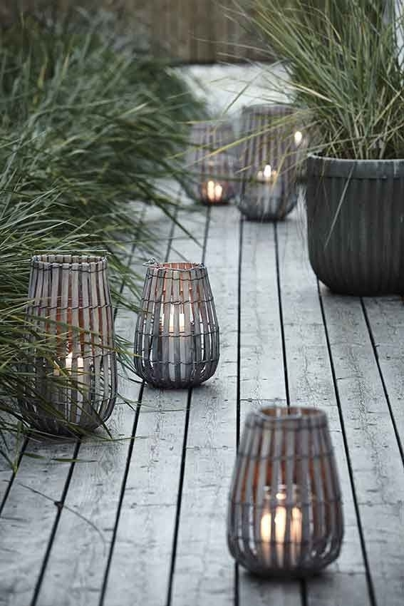 Woonnieuws | Arch | Outdoor | Pinterest | Rattan, Beach And Lights Within Outdoor Rattan Lanterns (View 12 of 15)