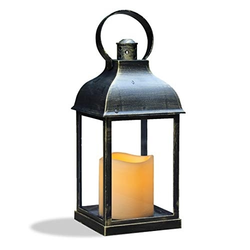Wralwayslx Decorative Lanterns With Timer Candle Light Flameless With Regard To Outdoor Lanterns With Flameless Candles (View 8 of 15)
