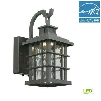 Inspiration about Wrought Iron – Outdoor Lanterns & Sconces – Outdoor Wall Mounted With Outdoor Grey Lanterns (#11 of 15)
