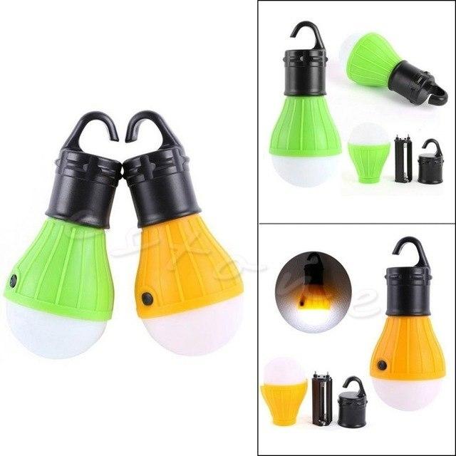 Yellow/green Long Lifespan Emergency Lamp Tent Light Lantern 3X Led In Yellow Outdoor Lanterns (#15 of 15)