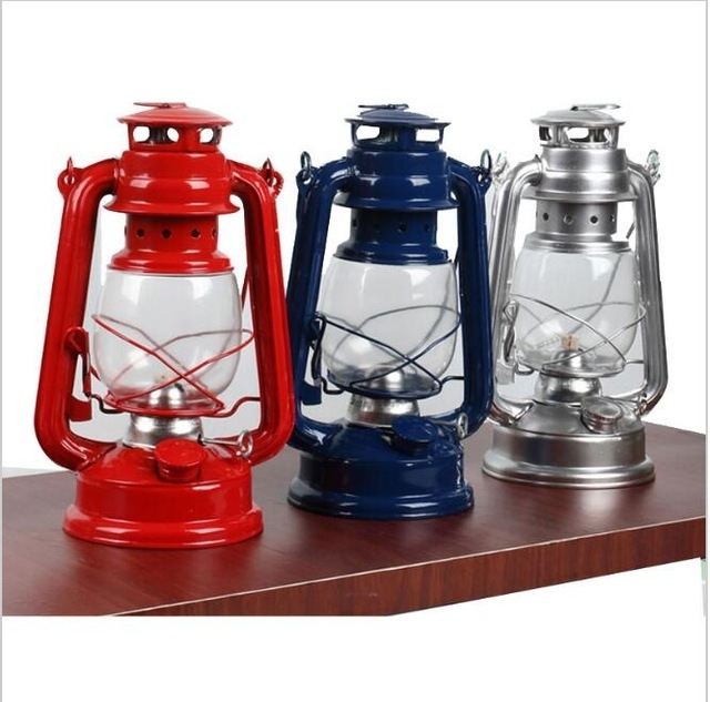 Inspiration about Zl Retro Metal Kerosene Lamp Outdoor Camping Lantern Glass Portable For Decorative Outdoor Kerosene Lanterns (#4 of 15)