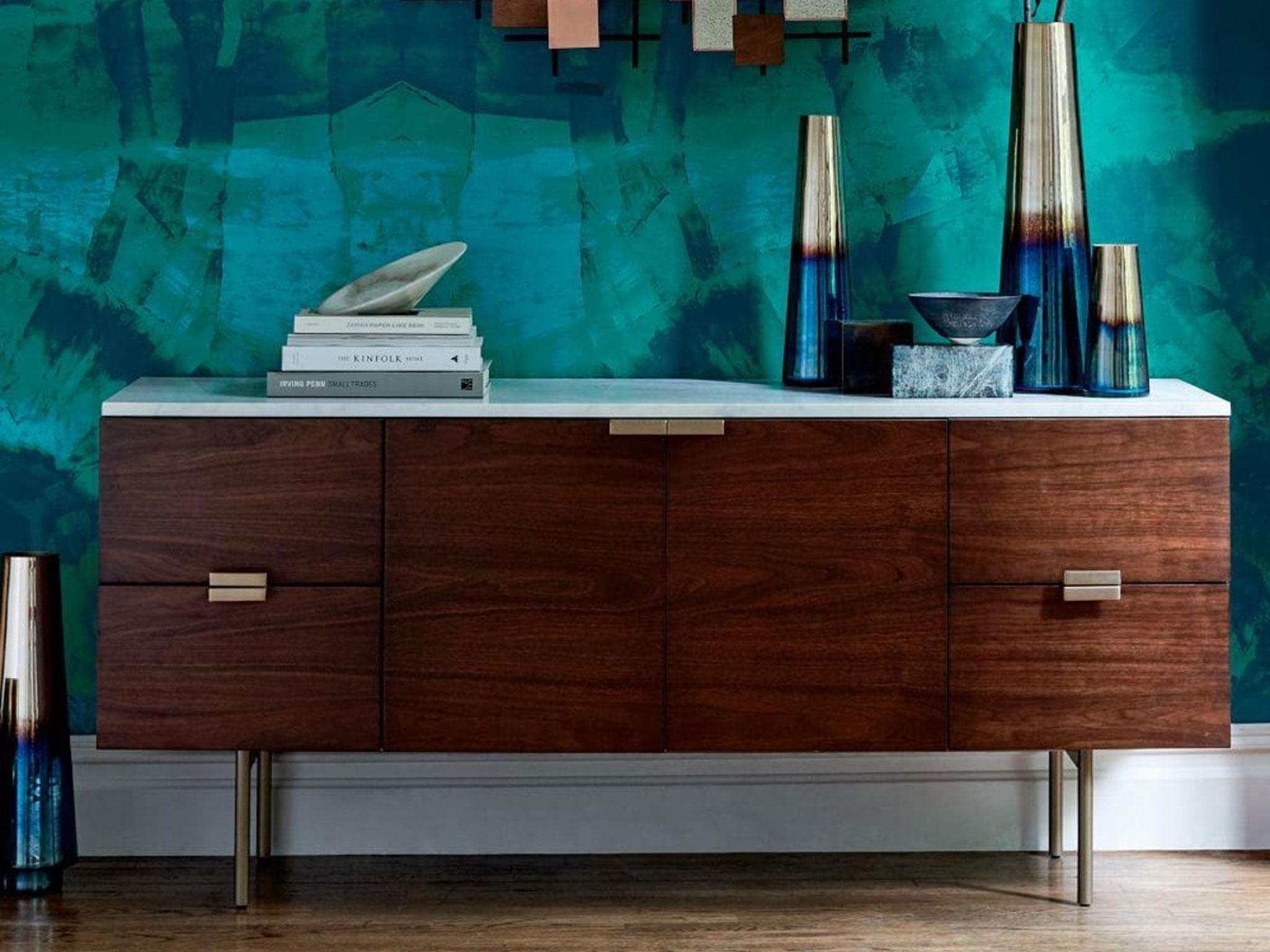 10 Best Sideboards | The Independent With Most Current Dark Smoked Oak With White Marble Top Sideboards (#1 of 20)