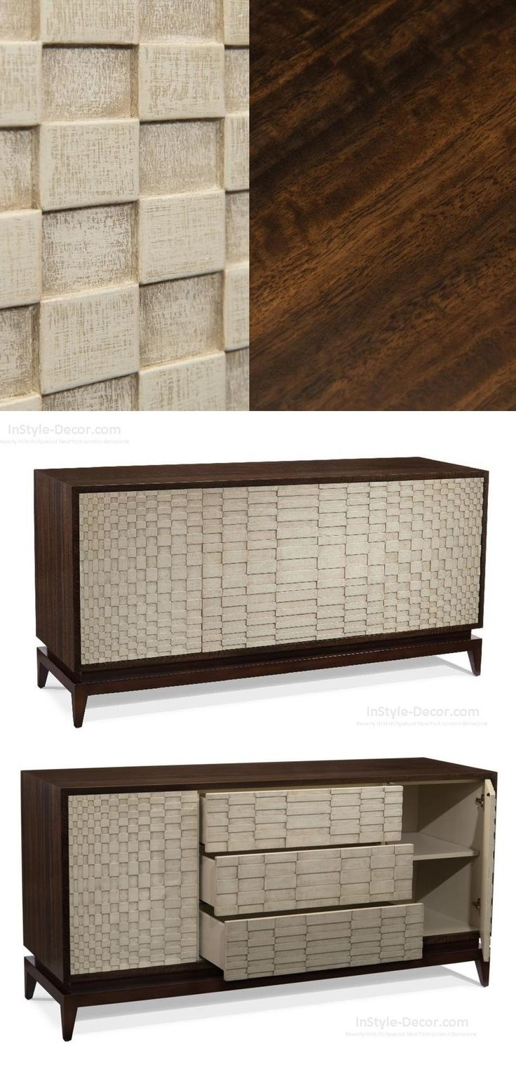 111 Best Holzdesign Images On Pinterest | Wood, Woodworking And For Latest Burnt Tannin 4 Door Sideboards (#1 of 20)