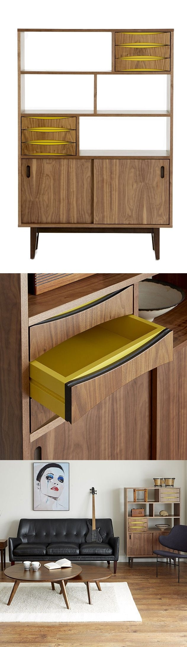 111 Best Holzdesign Images On Pinterest | Wood, Woodworking And Intended For Most Current Burnt Tannin 4 Door Sideboards (#3 of 20)