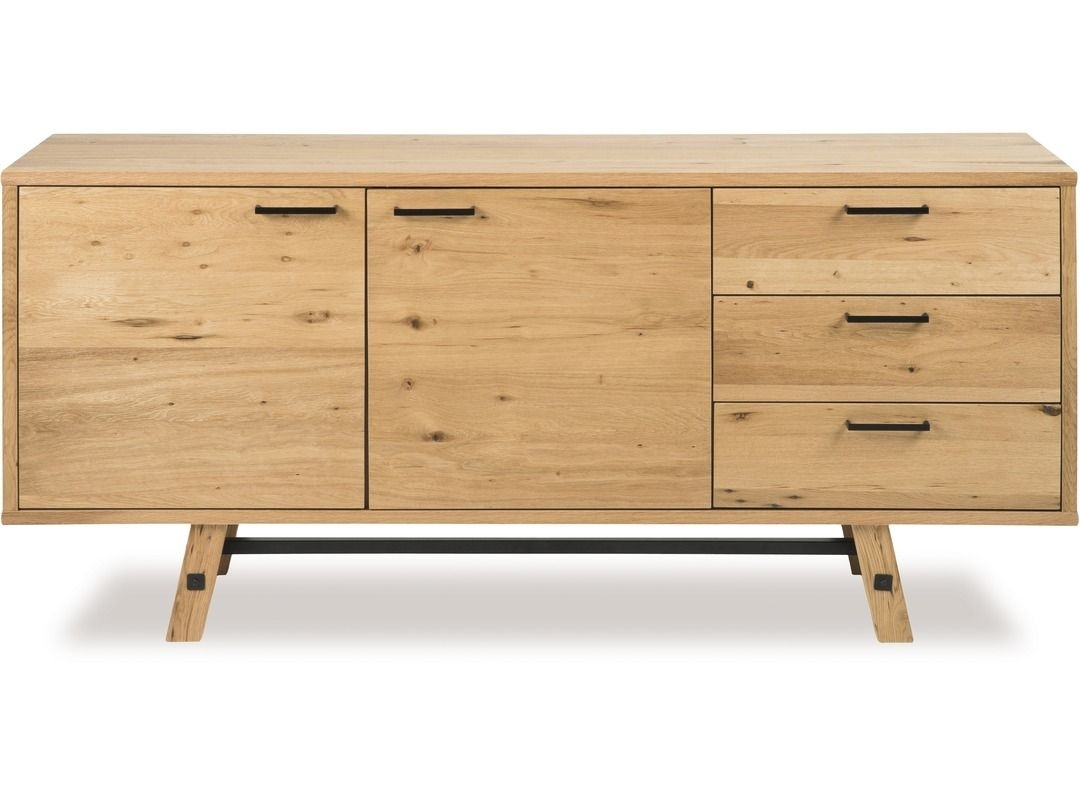 $1559 Simplicity And Rustic Style Underpins The Stockholm Sideboard Within Most Recently Released Rossi Large Sideboards (#1 of 20)
