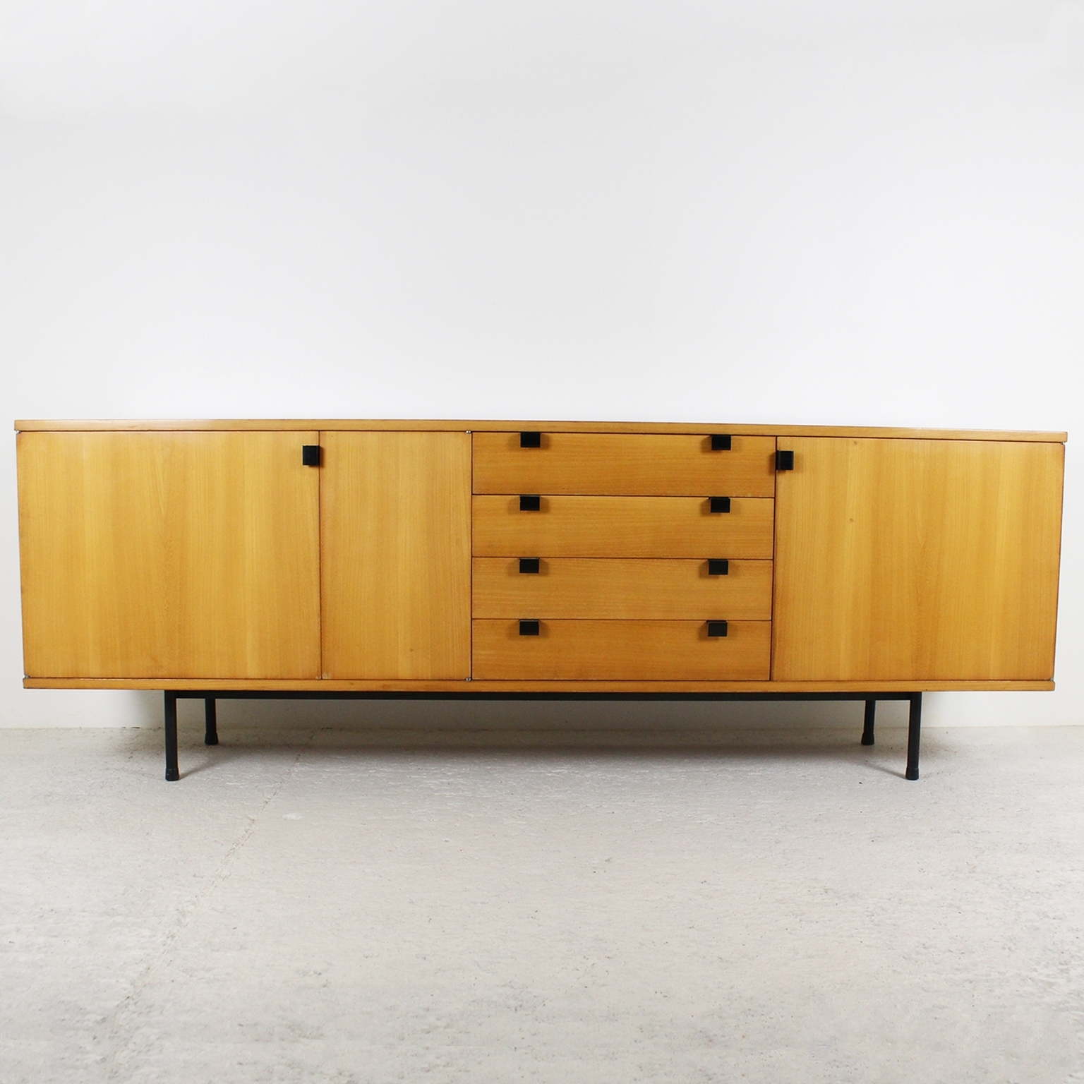 Inspiration about 1950's Sideboardalain Richard Within 2018 Natural Oak Wood 78 Inch Sideboards (#11 of 20)