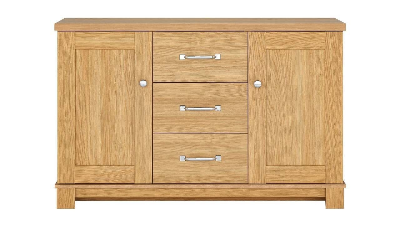 Inspiration about 2 Door 3 Drawer Sideboard From The Banbury Range | Ahf For Recent 3 Drawer/2 Door Sideboards (#4 of 20)