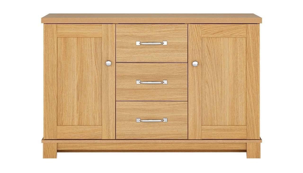 2 Door 3 Drawer Sideboard From The Banbury Range | Ahf For Recent 3 Drawer/2 Door Sideboards (#1 of 20)