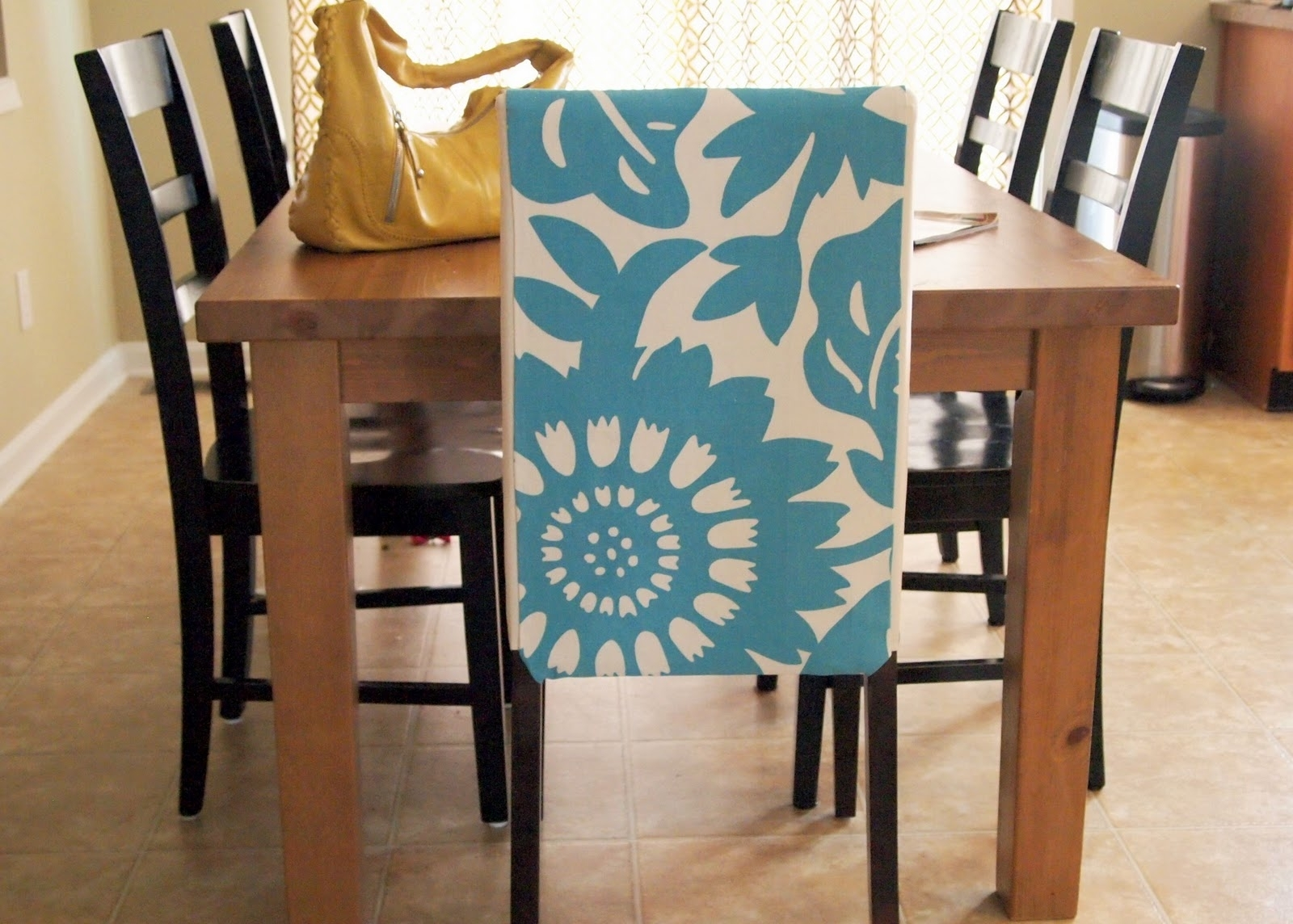 Inspiration about 2018 Blue Stripe Dining Chairs Intended For Surprising Black And White Striped Dining Chair Covers Navy Room (#19 of 20)