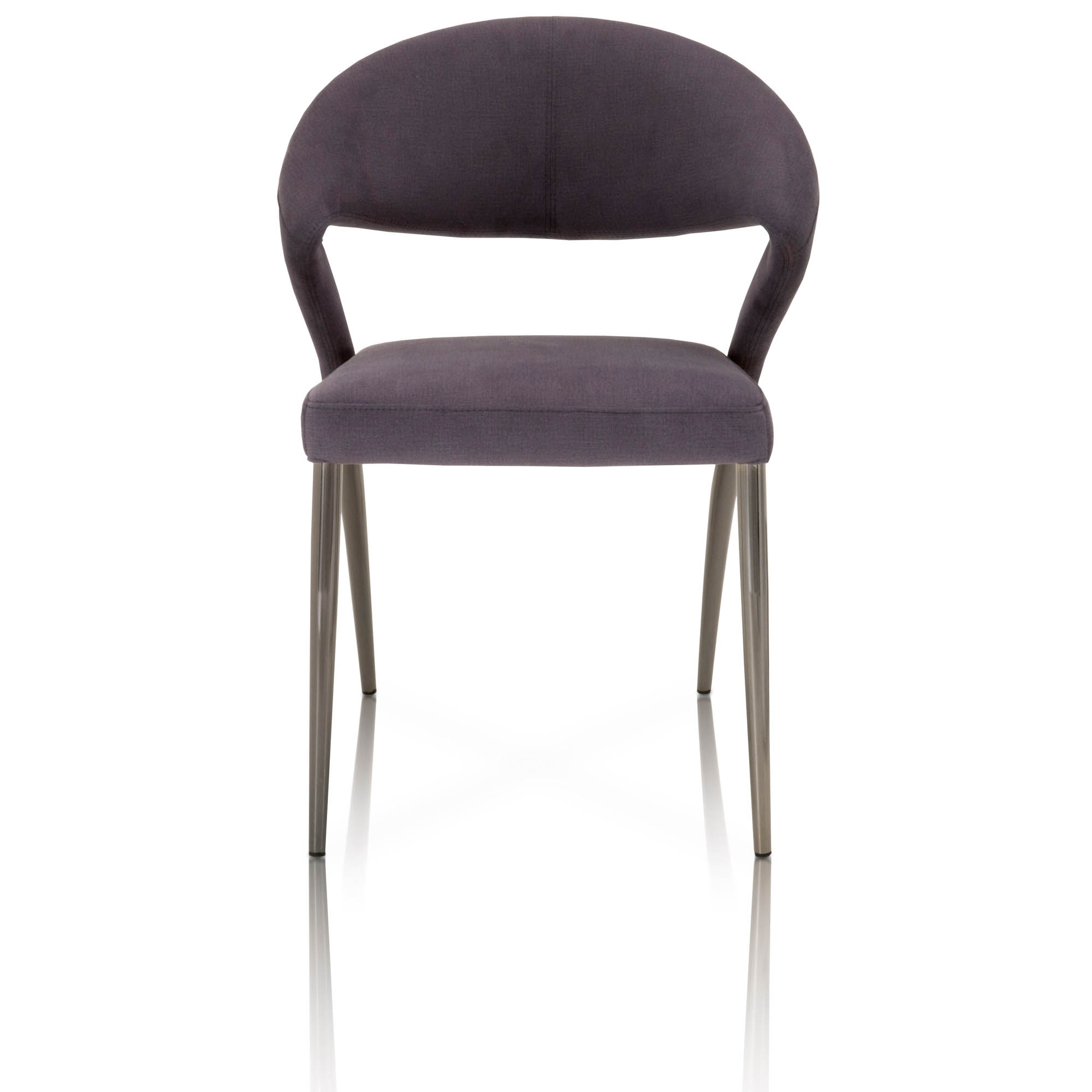 Inspiration about 2018 Dining Chairs Inside Alexa Black Side Chairs (#11 of 20)