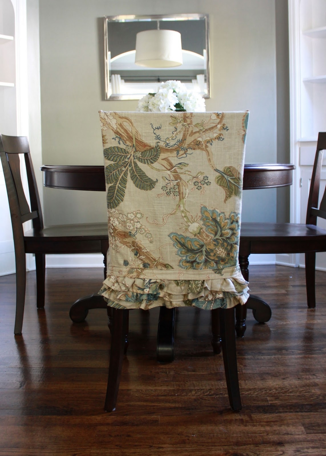 2018 Slipcovers For Dining Room Chairs That Embellish Your Usual Dining Regarding Dining Chairs With Blue Loose Seat (View 2 of 20)
