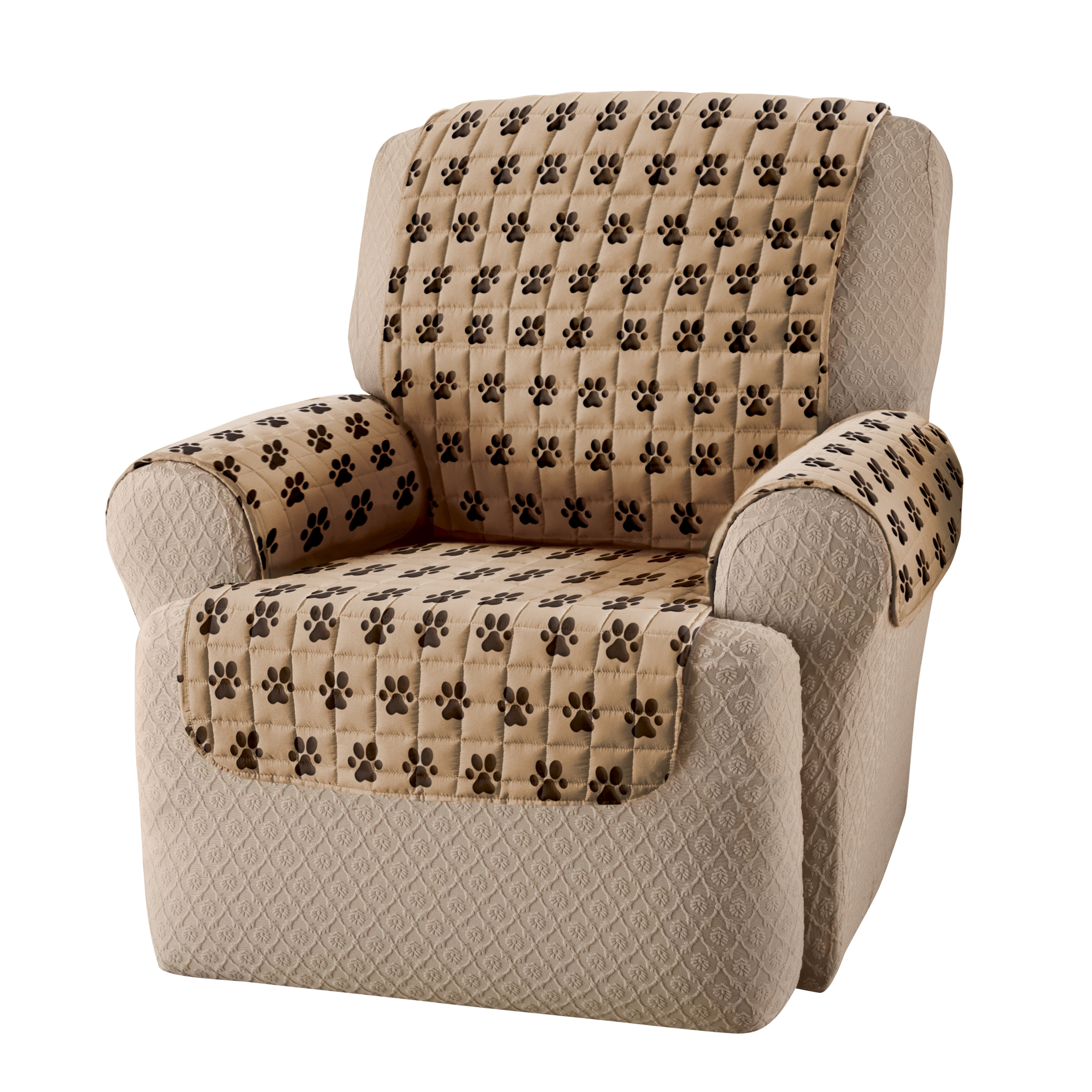 Inspiration about 2018 Sure Fit Stretch Pearson Recliner Slipcover Sure Fit Inc 35300 Within Pearson White Slipcovered Side Chairs (#18 of 20)