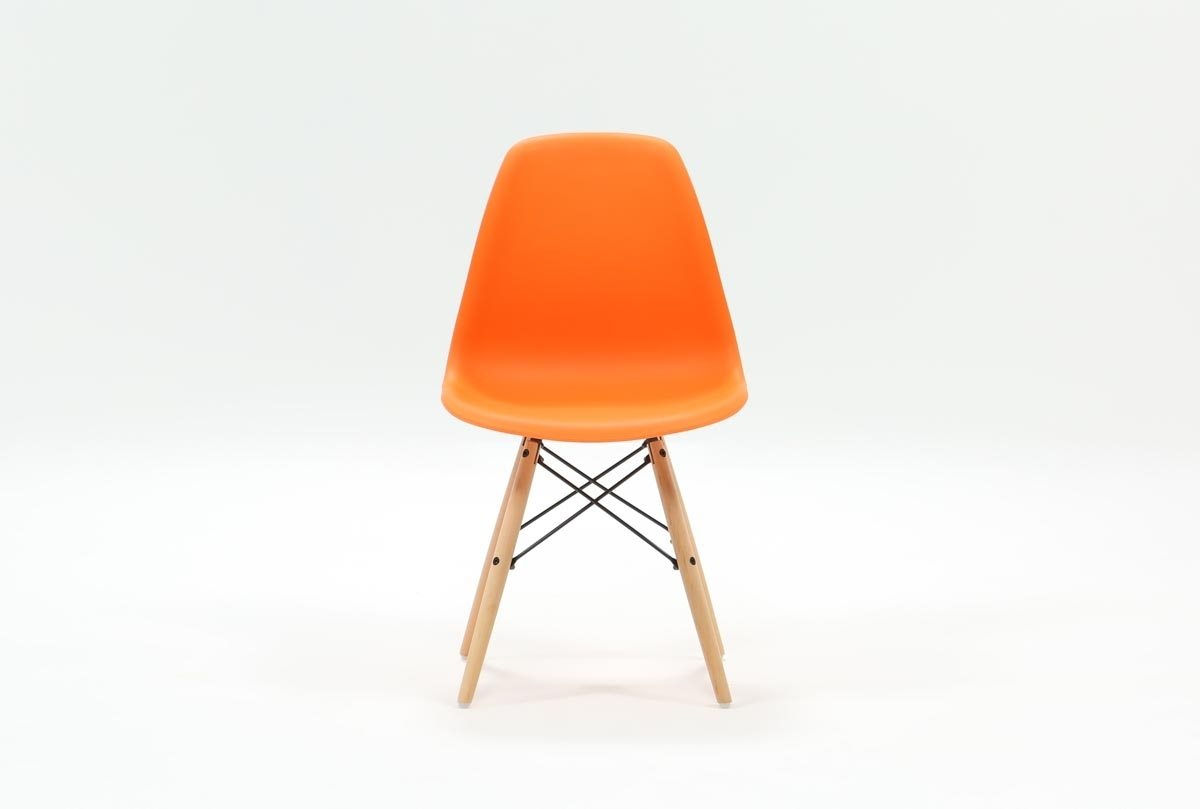 Popular Photo of Cole Ii Orange Side Chairs