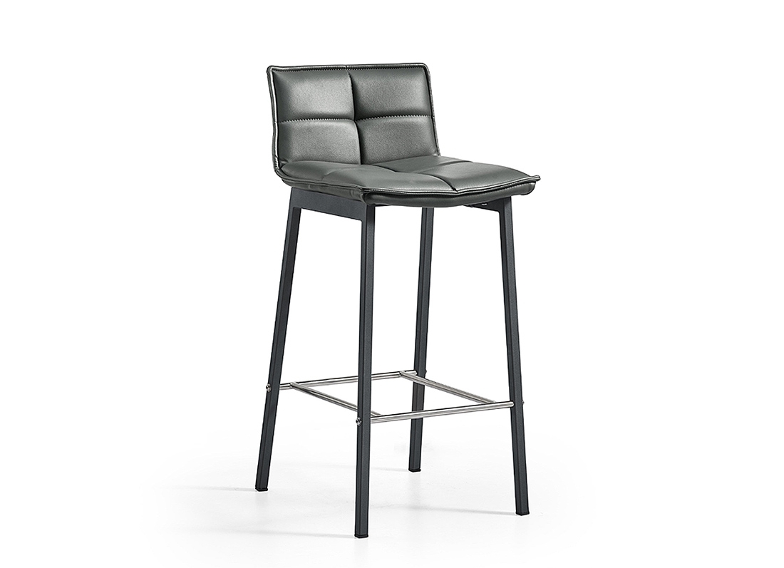 2019 Jaxon Barstool – Jar Furniture Throughout Jaxon Grey Upholstered Side Chairs (#1 of 20)