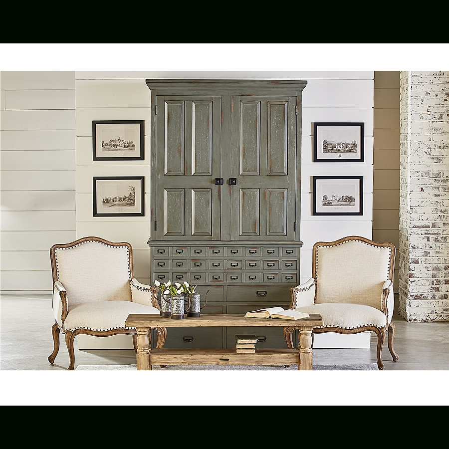 2019 Magnolia Home Revival Side Chairs Intended For The Lovely Magnolia Home Reverie Accent Chair Has Timeless Grace And (View 16 of 20)