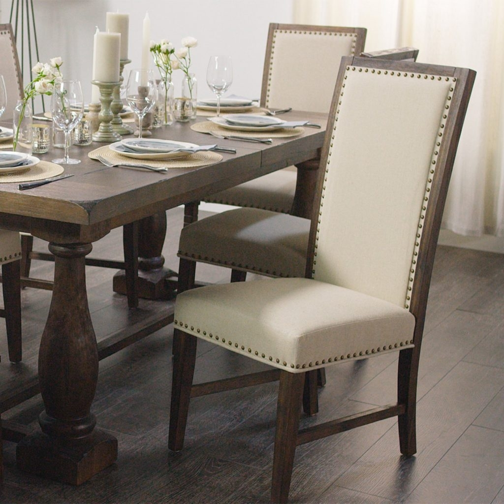 2019 Market Side Chairs With Regard To Rustic Java Greyson Side Chair, Set Of  (#2 of 20)