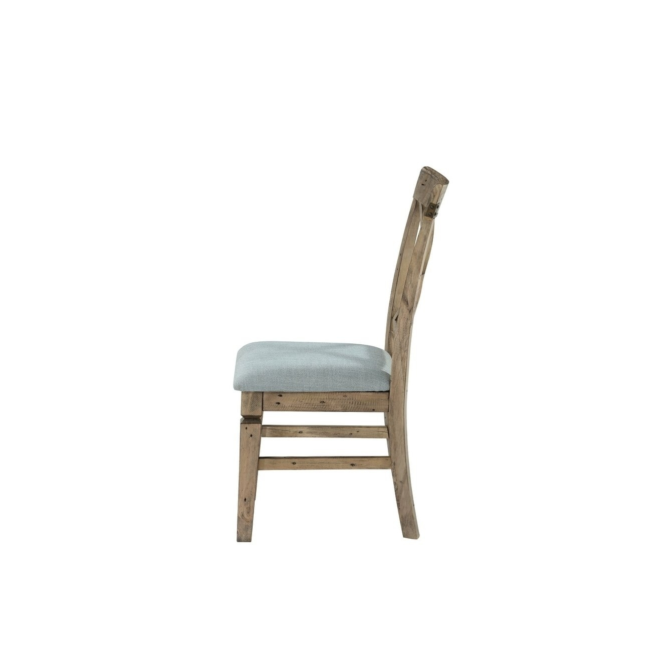 Inspiration about 2019 Shop Emerald Home Valencia Cross Back Upholstered Seat Dining Chair With Regard To Valencia Side Chairs With Upholstered Seat (#14 of 20)