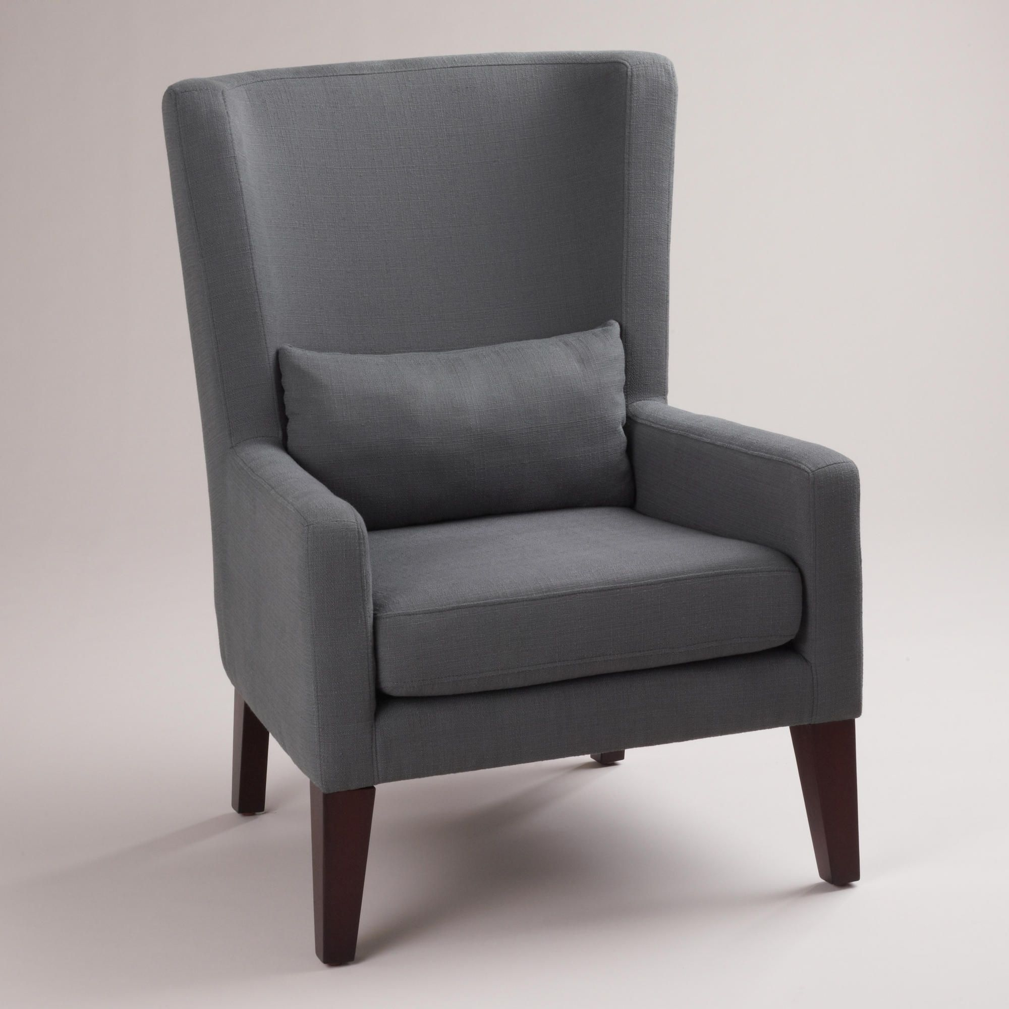 $349 (Comes In A Couple Of Colors) Dove Gray Triton High Back Pertaining To Best And Newest Lindy Dove Grey Side Chairs (View 1 of 20)