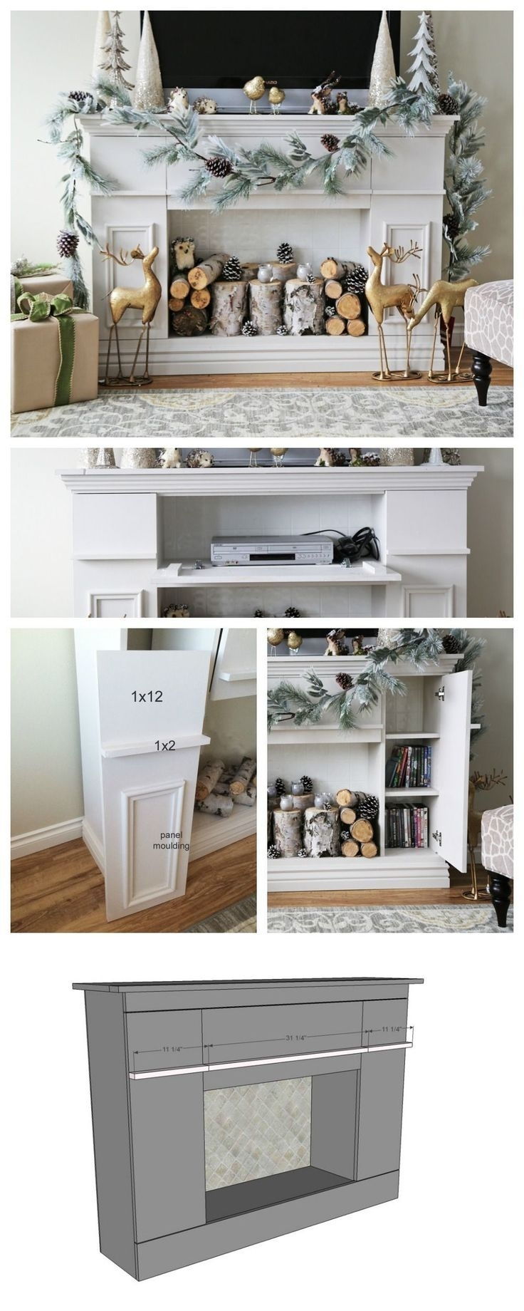 Inspiration about 9 Best Fireplace Images On Pinterest | Fire Places, Living Room And With Recent Marbled Axton Sideboards (#15 of 20)