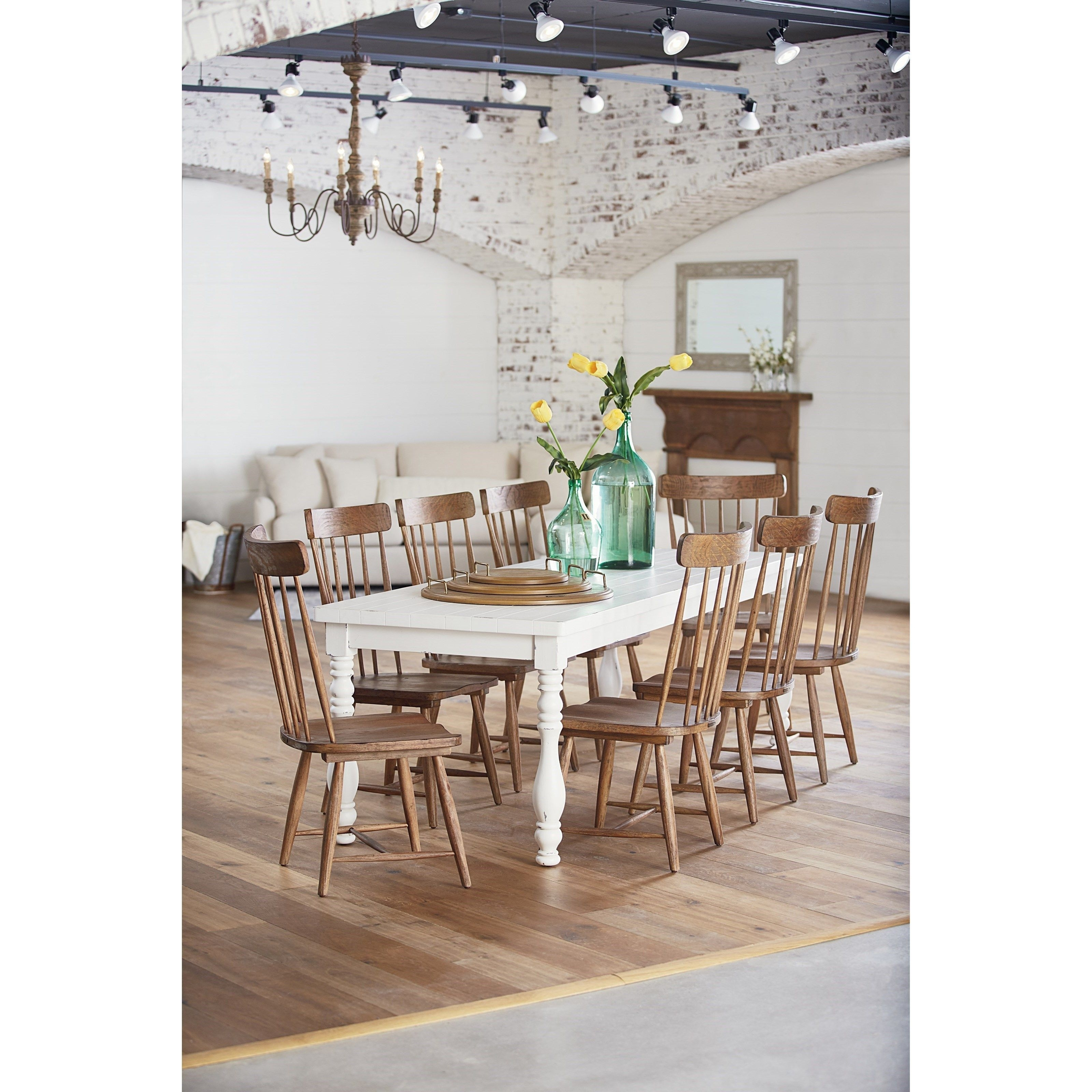 Inspiration about 9 Piece Dining Setmagnolia Home (#10 of 20)
