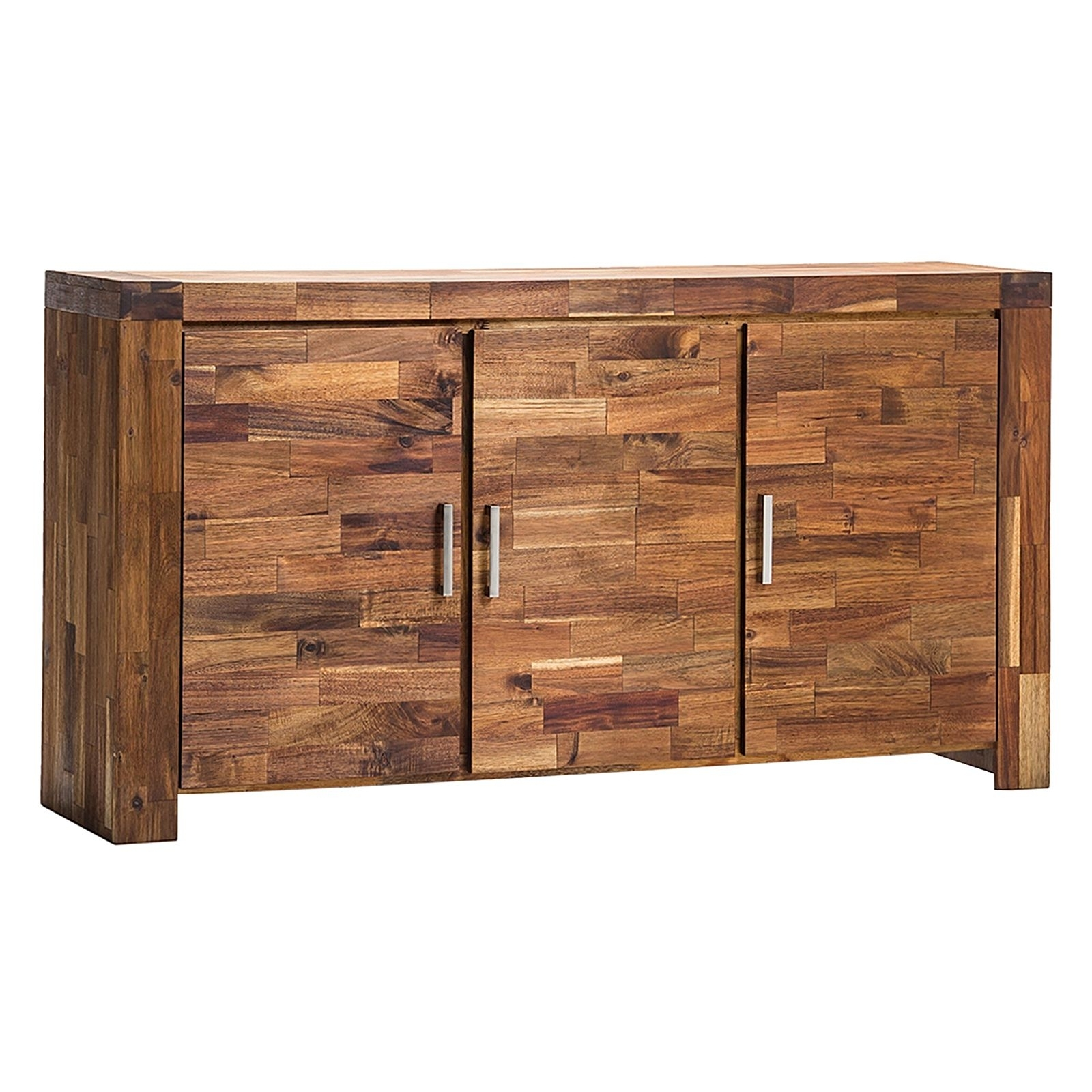 Acacia Phillipe Sideboardeastern Warehouse | Zanui With Regard To Most Popular Acacia Wood 4 Door Sideboards (#1 of 20)