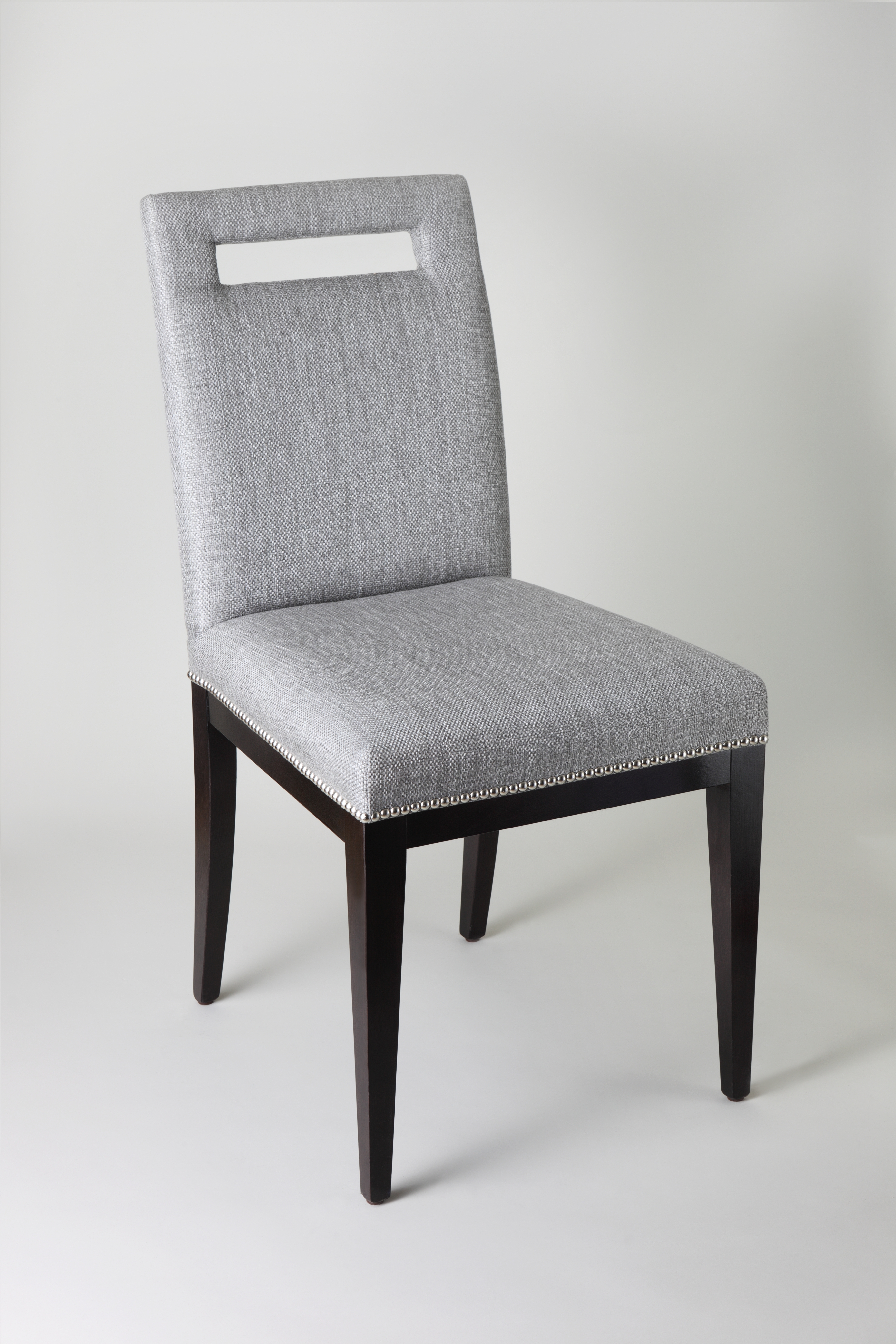 Alexa Black Side Chairs Intended For Widely Used Byron – The Dining Chair Company (#4 of 20)
