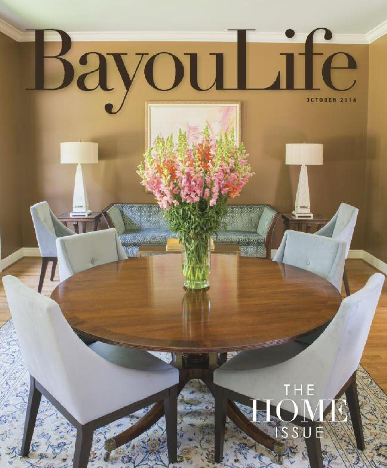 Alexa Firecracker Side Chairs Intended For Most Recently Released Bayoulife October 2014Bayoulife Magazine – Issuu (#4 of 20)