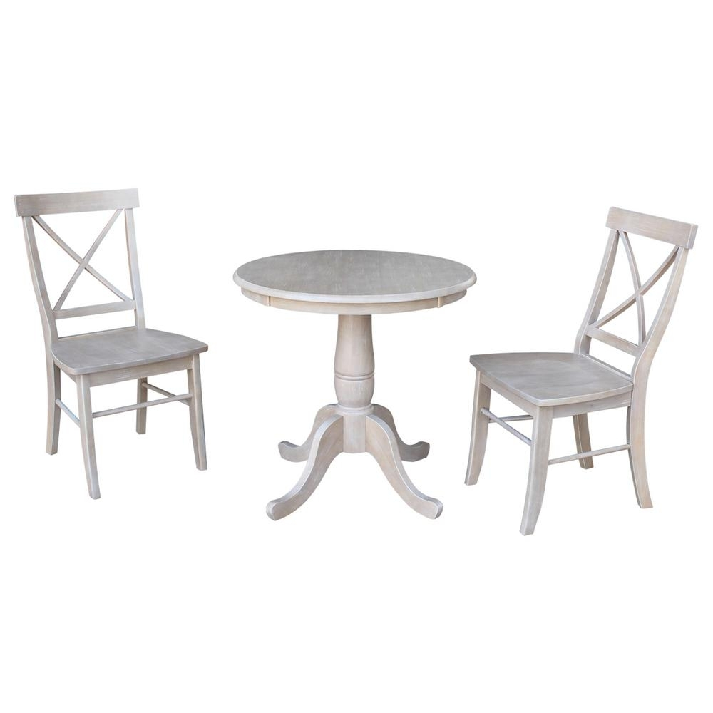 Alexa Grey Side Chairs For Famous International Concepts 3 Piece 30 In (#2 of 20)