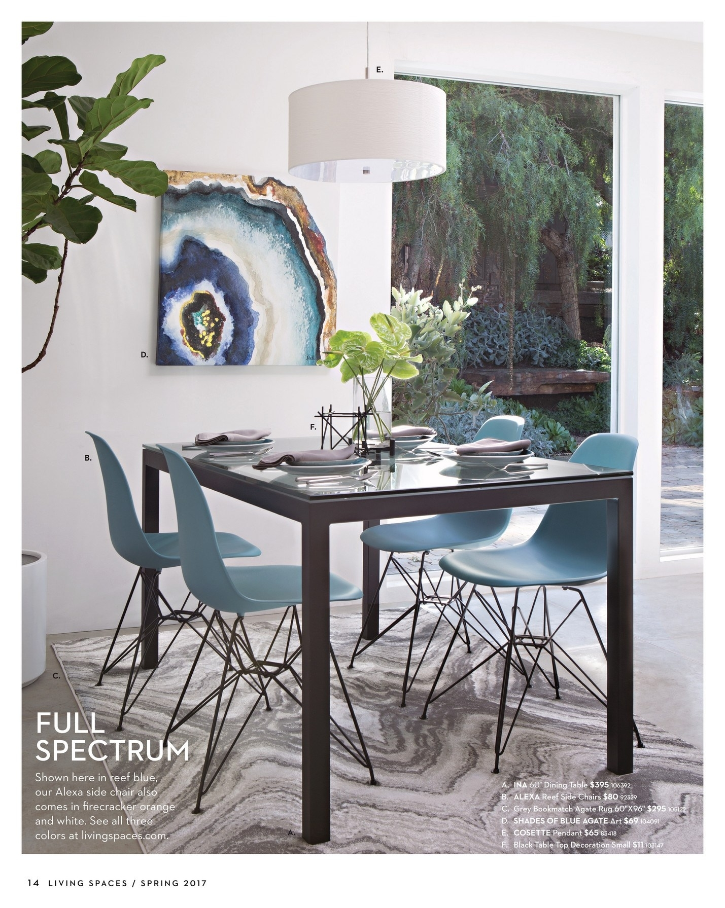 Alexa Reef Side Chairs In Most Recent Shapely Living Spaces Table Set Diego Upholstered Side Chair Living (#2 of 20)