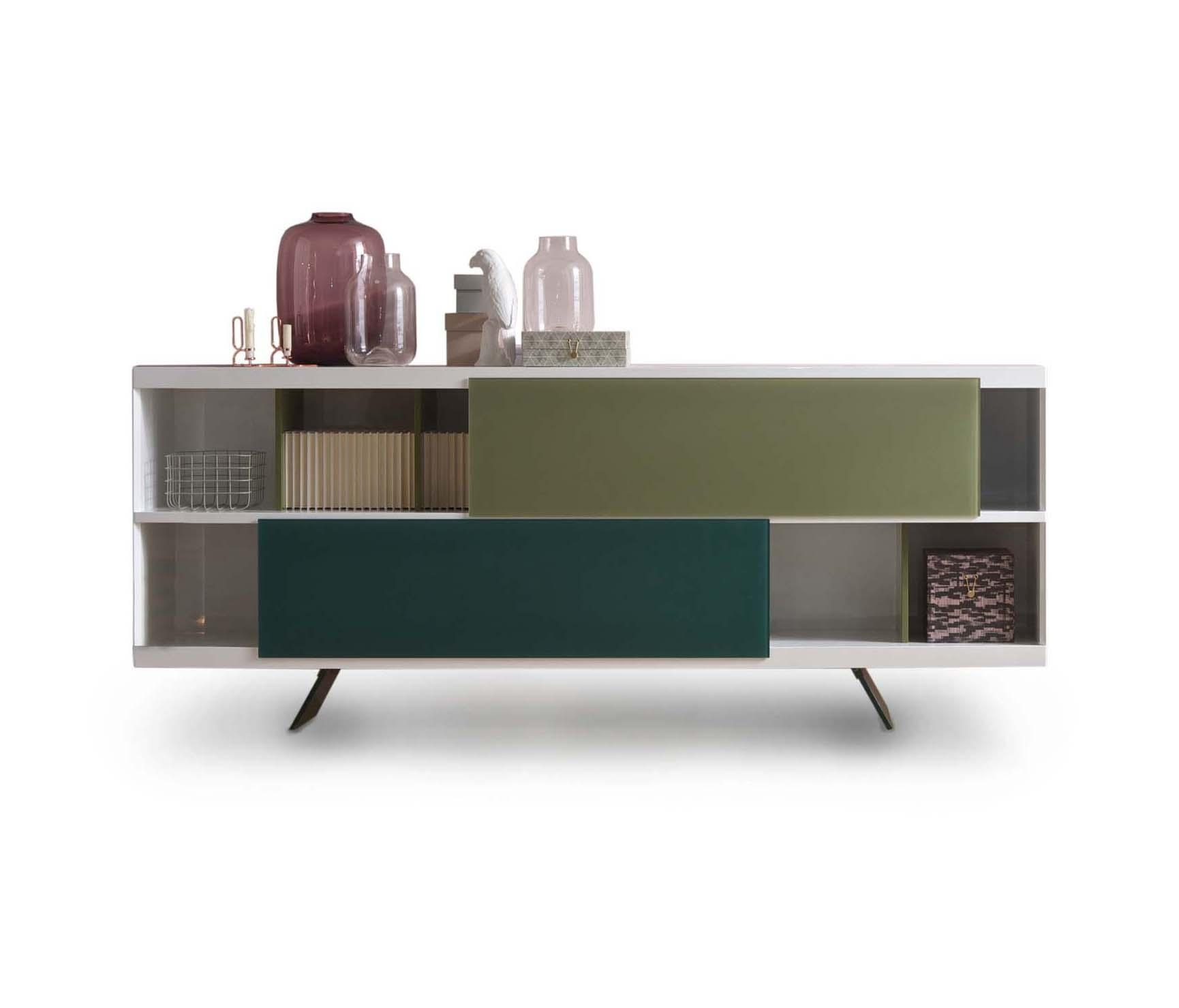 Aliante | Sideboard – Sideboards From Estel Group | Architonic With Regard To Recent Open Shelf Brass 4 Drawer Sideboards (View 9 of 20)