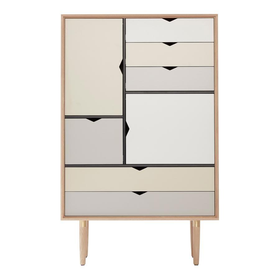 Andersen S5 Drawerbykato – Designer Furnituresmow Inside Most Popular Girard 4 Door Sideboards (View 14 of 20)