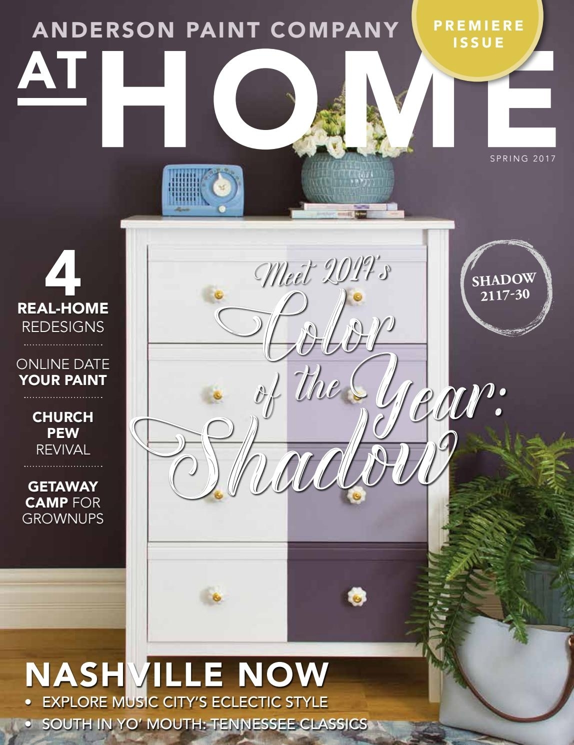 Anderson Paint Company At Home Spring 2017At Home Magazine – Issuu For Recent Burnt Tannin 4 Door Sideboards (#5 of 20)