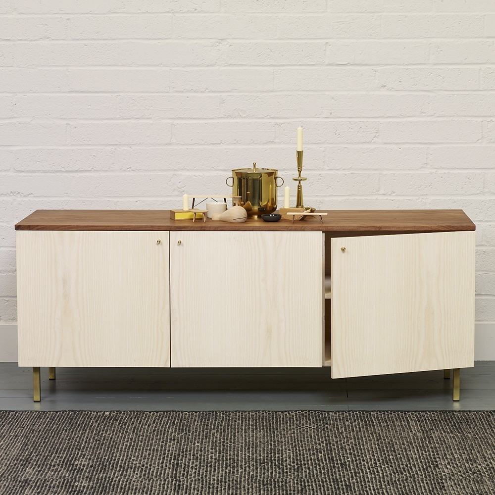 Another Country Sideboard Two | Chiara Colombini Intended For Most Recently Released Oil Pale Finish 3 Door Sideboards (View 2 of 20)