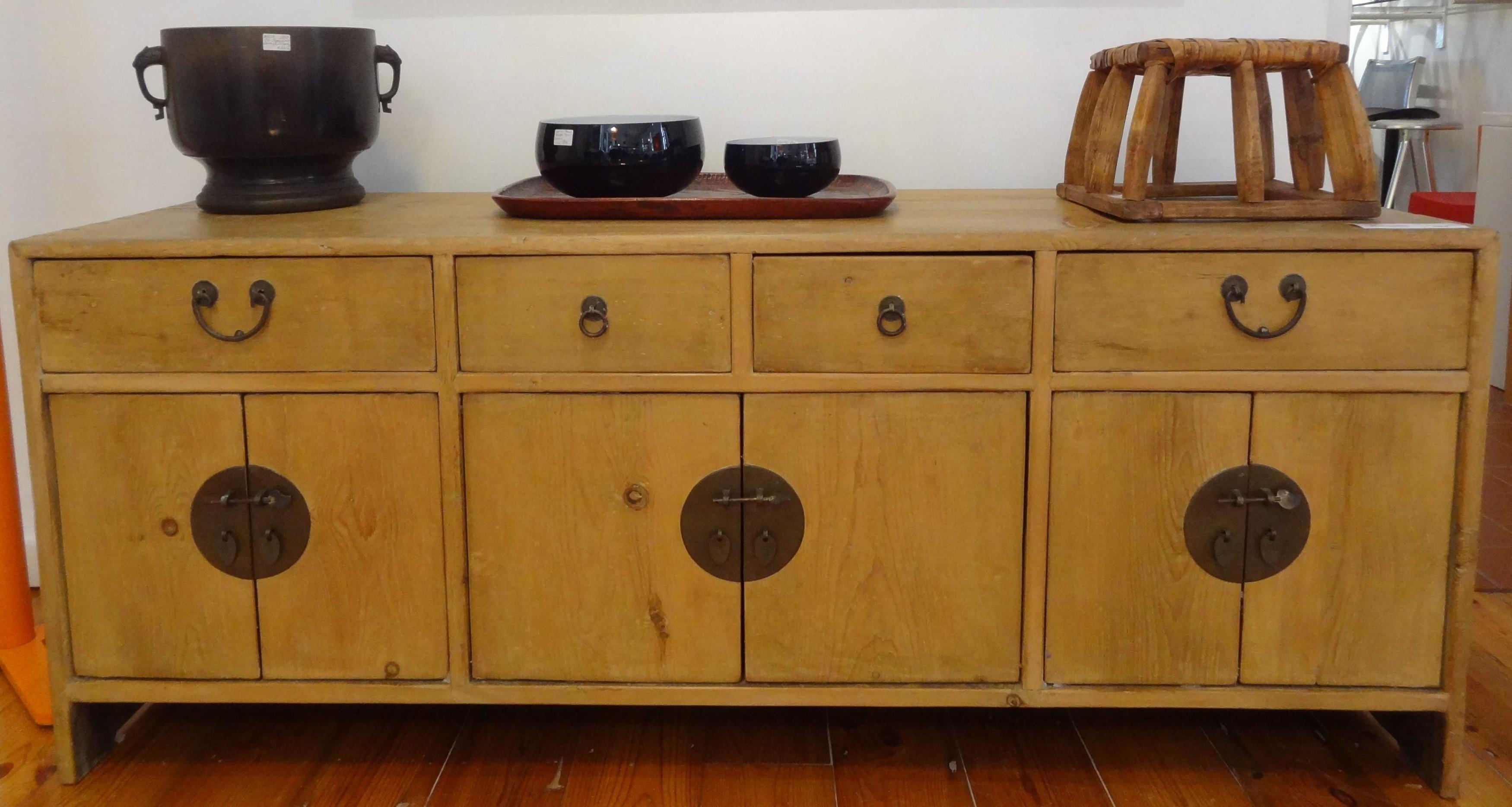Antique Sideboards | Gallery Categories | Aptos Cruz Inside Latest Antique Walnut Finish 2 Door/4 Drawer Sideboards (#1 of 20)