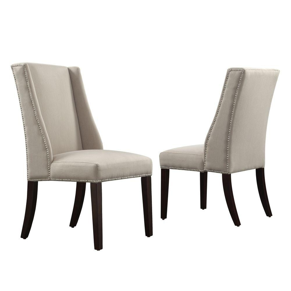 Armless Oatmeal Dining Chairs Throughout Recent Homesullivan – Dining Chairs – Kitchen & Dining Room Furniture – The (#4 of 20)