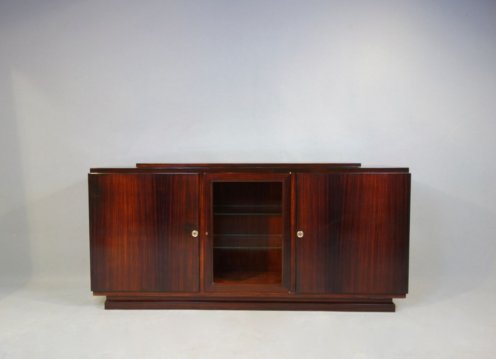 Art Déco Sideboard For Sale At Pamono Pertaining To Most Current Girard 4 Door Sideboards (#4 of 20)