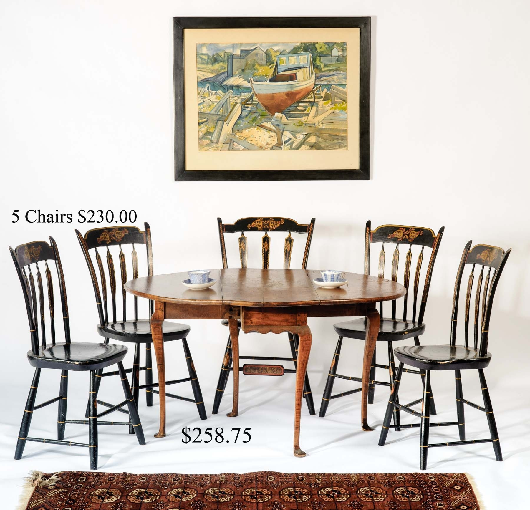 Auction Of Estate Antiques Inside Most Popular Grady Side Chairs (#1 of 20)