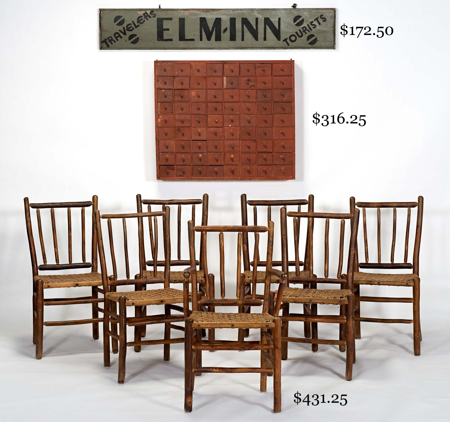 Auction Of Estate Antiques With Most Current Garten Delft Skirted Side Chairs Set Of  (#4 of 20)