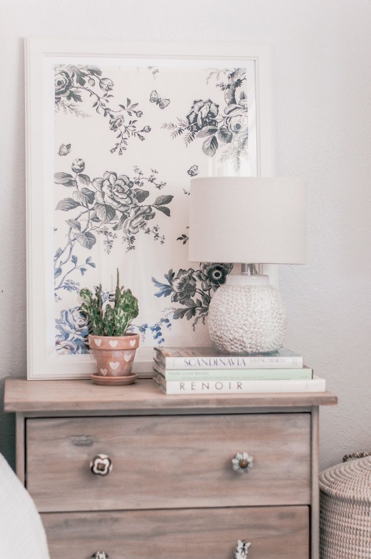 Aug 7 Diy Fabric Art: Fabric Scraps As Decor | Home Idea's With Regard To Most Recent Magnolia Home Dylan Sideboards By Joanna Gaines (View 17 of 20)