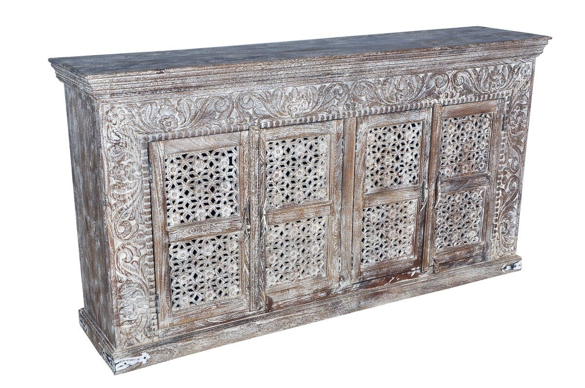 Aveliss Carved 4 Door Sideboard | Buffet/sideboard | Pinterest Intended For Newest Helms Sideboards (View 10 of 20)