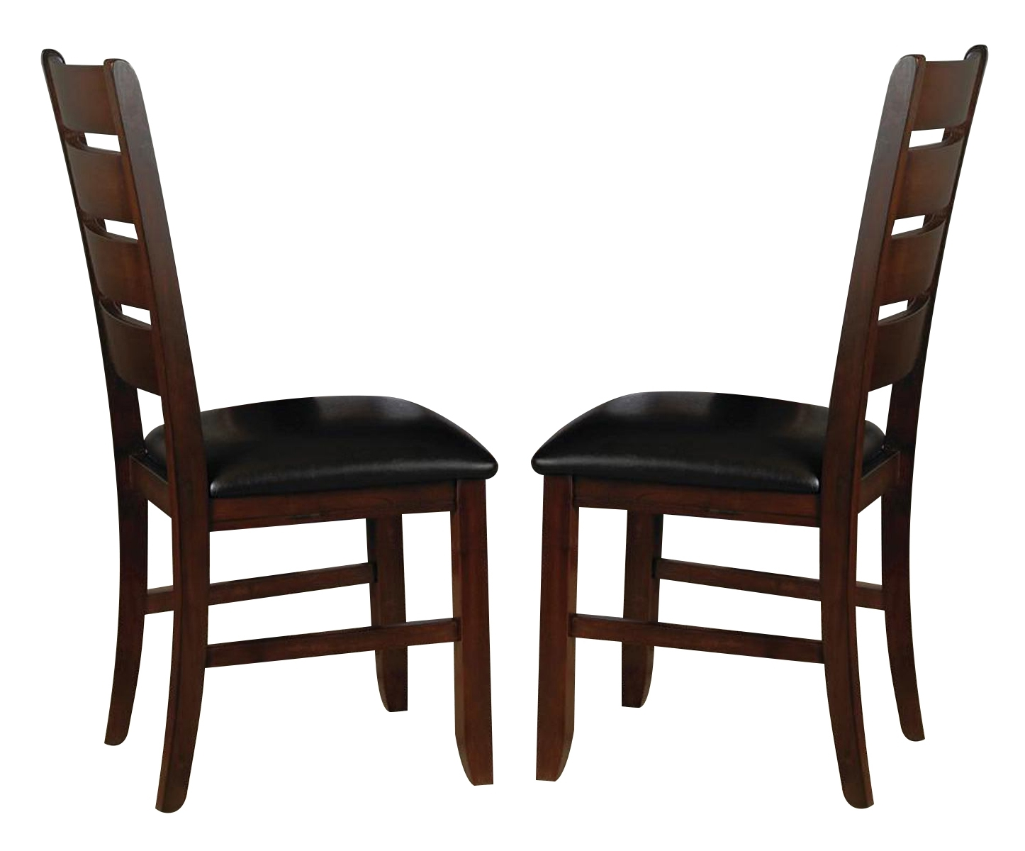 Bardstown Side Chairs For Preferred Crown Mark Bardstown Side Chair In Espresso (Set Of 2) 2152S (#2 of 20)