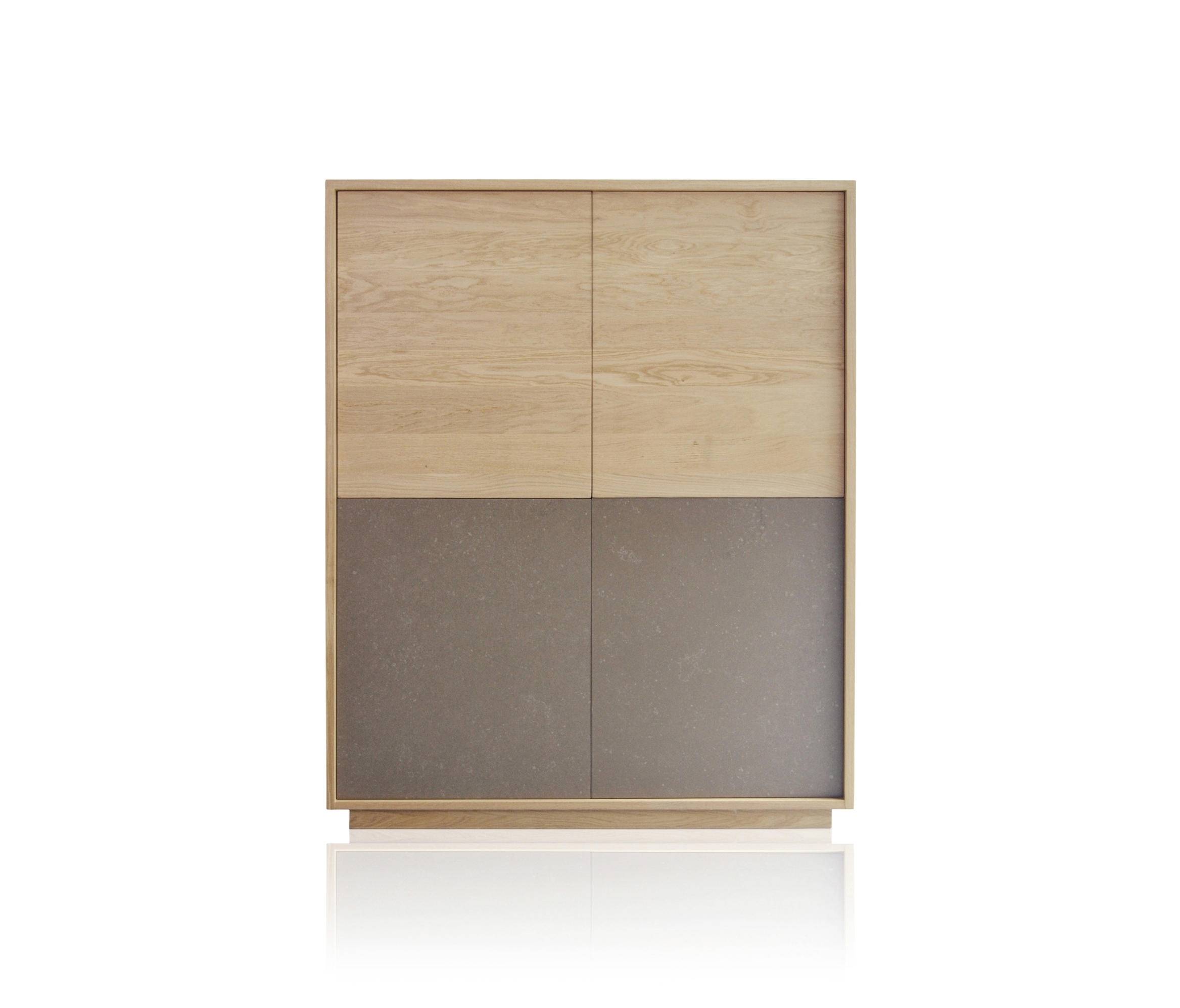 Basic 4 Door Module – Sideboards From Expormim   Architonic With Regard To 2017 Square Brass 4 Door Sideboards (#3 of 20)