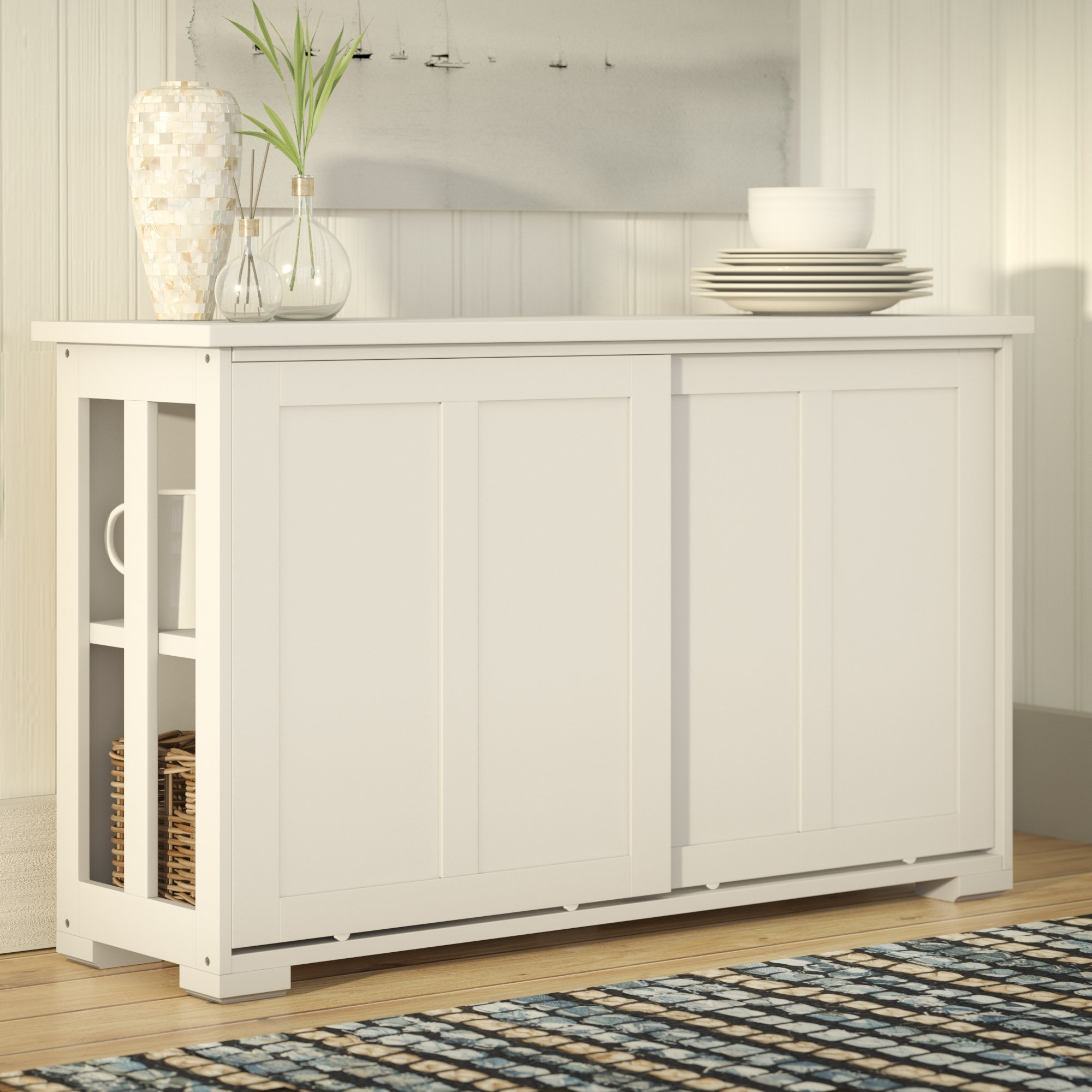 Beachcrest Home South Miami Sideboard & Reviews | Wayfair Inside Most Recently Released Norwood Sideboards (View 10 of 20)