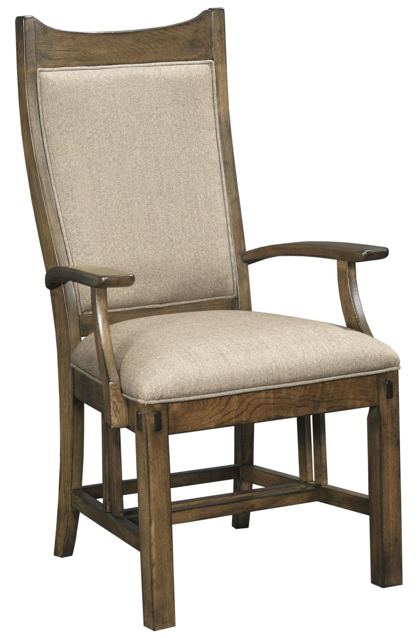 Bedford Park Craftsman Arm Chair Set Of 2 From Kincaid Furniture In Newest Craftsman Arm Chairs (#2 of 20)