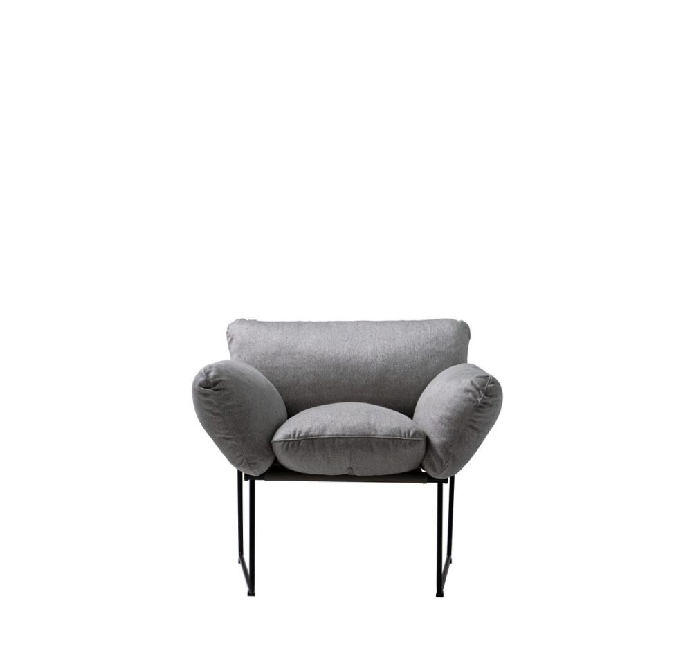 Best And Newest Caira Black Upholstered Arm Chairs Regarding Elisa Armchair Cairo – Bianco 01Enzo Mari For Driade Clippings (#2 of 20)